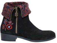 Desigual Dámske členkové topánky Shoes Neoboho Foulard Negro 18WSAL12 2000