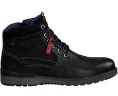 s.Oliver Pánske členkové topánky Black 5-5-15227-21-001