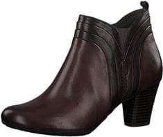 Dámske členkové topánky 8-8-25314-21 549 Bordeaux