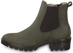 Tamaris Dámske členkové topánky 1-1-26420-31-722 Olive