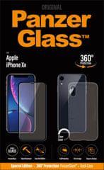PanzerGlass Premium Bundle pro Apple iPhone Xr černé + pouzdro B2641