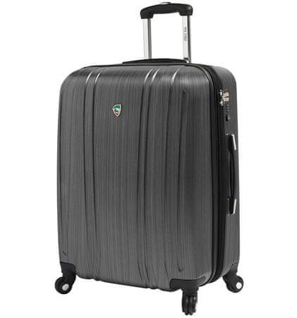 Mia Toro Utazó bőrönd M1093/3-L ezüst