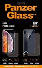 PanzerGlass Premium Bundle pro Apple iPhone Xs Max černé + pouzdro B2644