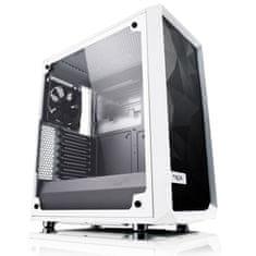 Fractal Design kućište MIDI T ATX W/O PSU MESHIFI C TG WHITE, bijelo