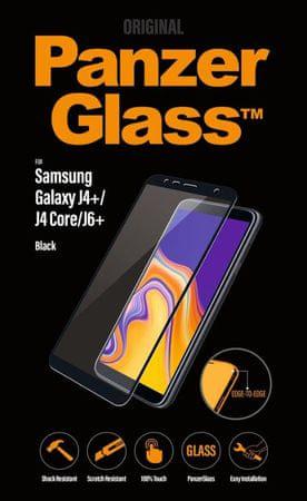 PanzerGlass Edge-to-Edge a Samsung Galaxy J4+/J6+ fekete 7171 készülékhez