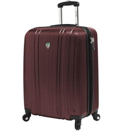Mia Toro Utazó bőrönd M1093/3-S bordó