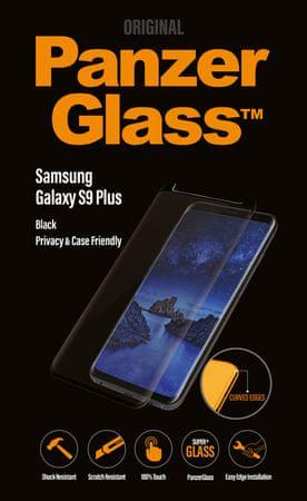 PanzerGlass Premium Privacy a Samsung Galaxy S9 fekete P7143 készülékhez