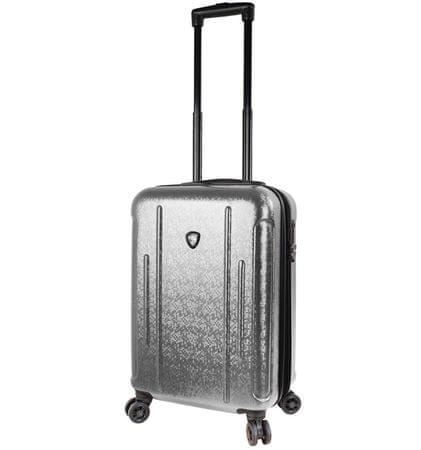 Mia Toro Cestovný kufor M1239/3-S strieborná
