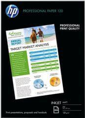 HP Professional Ink Paper Q6593A, A4, 200 ks, 120g/m2, matný (Q6593A)