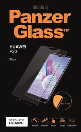 PanzerGlass zaščitno steklo Panzerglass za Huawei P20 črno
