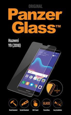 PanzerGlass ochronne szkło hartowane Standard przeznaczone dla Huawei Y9 2018 jasne 5308