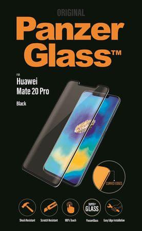 PanzerGlass zaščitno steklo za Huawei Mate 20 Pro, črna