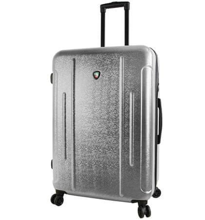 Mia Toro Utazó bőrönd M1239/3-L ezüst