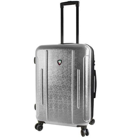 Mia Toro Utazó bőrönd M1239/3-M ezüst