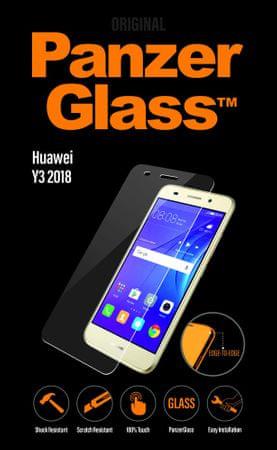 PanzerGlass Hagyományos Huawei Y3 2018 számára áttetsző 5320