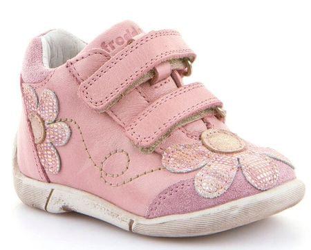 Froddo dívčí kotníčkové boty 19 růžová