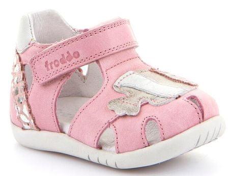 Froddo dekliški sandali, 19, roza
