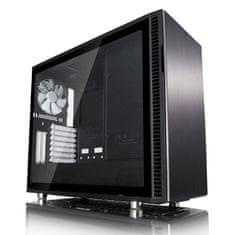 Fractal Design kućište MIDI T ATX W/O PSU DEFINE R6 USB-C TG, prozor