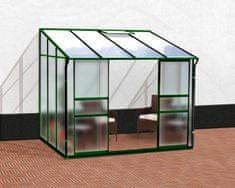 VITAVIA skleník VITAVIA IDA 5200 matné sklo 4 mm + PC 6 mm zelený