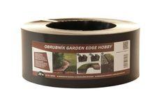 LanitPlast záhradný obrubník GARDEN EDGE HOBBY 20 m čierny