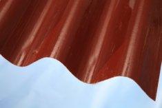 LanitPlast Sklolaminát vlna 94/35 síla 0,71 mm červený
