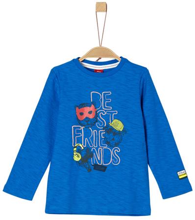 s.Oliver chlapčenské tričko 116 - 122 modrá