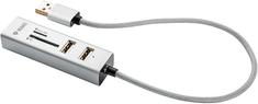 Yenkee Koncentrator USB YHC 101SR USB COMBO HUB + czytnik 45012401