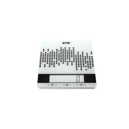 VOX electronics kuhinjska tehtnica KW 1005, črna