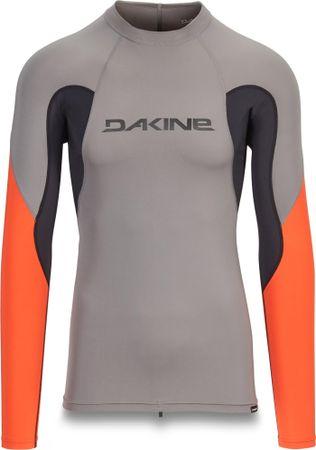 Dakine moška kopalna majica Lycra Heavy Duty Snug Fit L S, Carbon, M