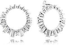 Pandora Csillogó ezüst fülbevalók 297545CZ ezüst 925/1000
