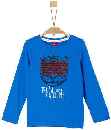 s.Oliver fiú póló 92 - 98 kék