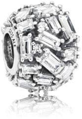 Pandora Svetleča srebrna kroglica 797746CZ srebro 925/1000
