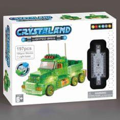 CrystaLand Crystal kocke kamion