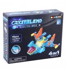 CrystaLand letalo 4 v 1