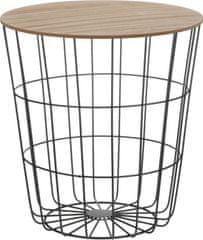 Koopman Příruční stolek s úložným prostorem 43 cm