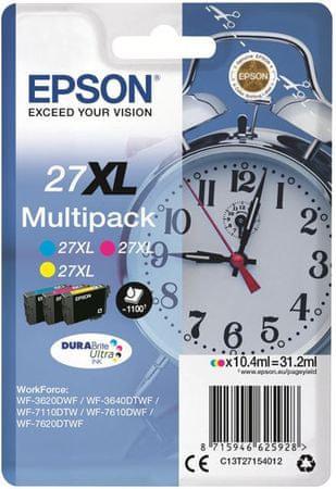 Epson zestaw tuszów Multipack 3-colour 27XL DURABrite Ultra Ink (C13T27154010)