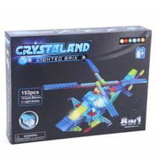 CrystaLand helikopter 8 v 1