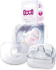 LOVI Chránič prsnej bradavky L veľký 2ks