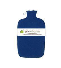 Hugo Frosch Termofor Eco Classic Comfort s fleecovým obalom - modrý