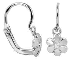 Brilio Silver Gyerek ezüst fülbevalók Virágok 431 001 02671 04 ezüst 925/1000