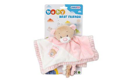 Unikatoy Ge. Medo Baby ninica, roza, 25291