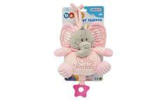 Unikatoy Ge. slon baby na poteg, roza, 25295