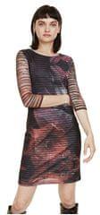 Desigual Dámské šaty Vest Rosa Glam Rosa Glamour 18WWVK67 3044