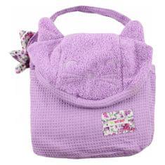 Minene brisača Cuddly lilac cat 115x 85 30002