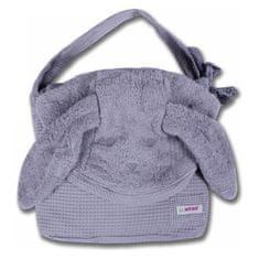 Minene brisača Cuddly grey bunny 115x 85 300010