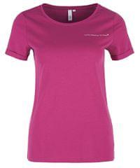 Q/S designed by T-shirt damski 41.901.32.5227 .44D0 Pink Umieszczony Print