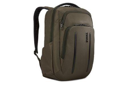 Thule ruksak za laptop Crossover 2 Backpack, Forest Night, 20 L, smeđe zelena