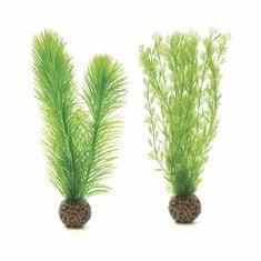 Oase Akváriová dekorácia biOrb Feather fern set S green