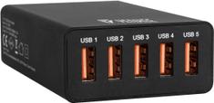 Yenkee YAC 3005BK USB nabiječka 5port 8 A 30015711