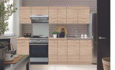 Kuchyně ETHAN 180/240 cm, dub sonoma